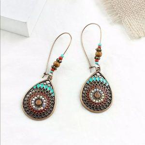Bronze Boho Earrings